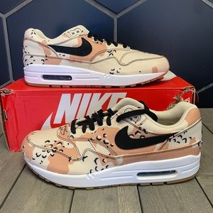 Nike Air Max 1 Beach Sand Camo Running Shoes